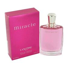 Miracle Perfume by Lancome, 3.4 oz EDP Spray for Women NEW
