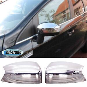 Acero inoxidable tapas de espejo para Ford Kuga i | C-Max II | S-Max i | Galaxy II