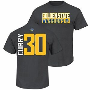 New Curry Majestic Golden State Warrior Custom. Name   No. T Shirt ... fda912602
