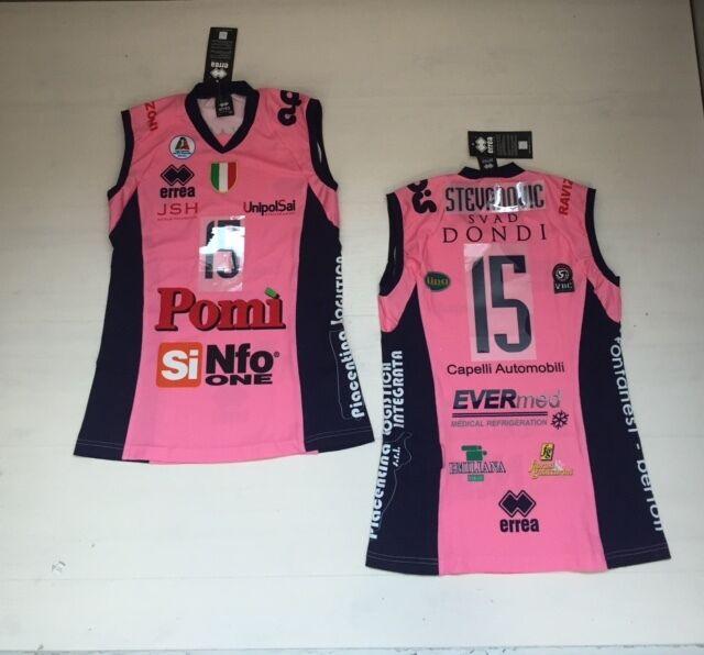 ERREA Volleyball Pomi Casalmaggiore Trikot Stevanovic 15 Jersey