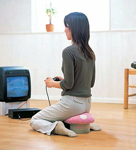 Brand new F//S Mushroom Type Small Chair Pink Japan Cushion Kinoko Kawaii Cute