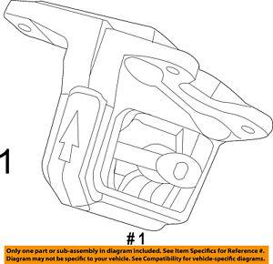 chrysler oem engine motor mount torque strut 52122710aa ebay rh ebay com Mitsubishi 3.0 V6 Engine Diagram GM 3.5 V6 Engine Diagram