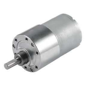 Diameter 37mm 12V DC 1600RPM Gear-Box Speed control Electric Motor Low noise