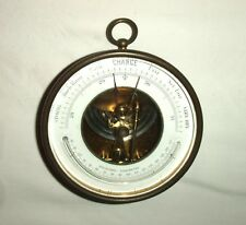 Vintage Brass Framed Holosteric Wall Barometer
