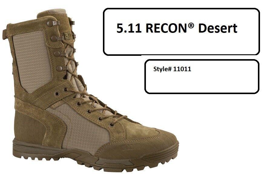 5.11 botas Tácticas Recon desierto 2.0