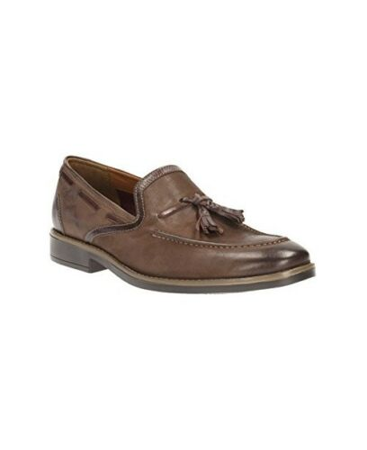 7 Uk 8 Men 9 Smart 10 Garren Clarks Style G 11 on Lea 5 Brown slip Pzxwq