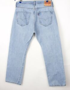 Levi's Strauss & Co Hommes 501 Jeans Jambe Droite Taille W36 L30 BCZ165