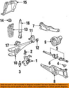 ford oem 84 88 ranger front suspension camber kit e3tz3b440c ebay
