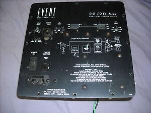 EVENT-20-20-BAS-Amplifier-Module-Repair-Service