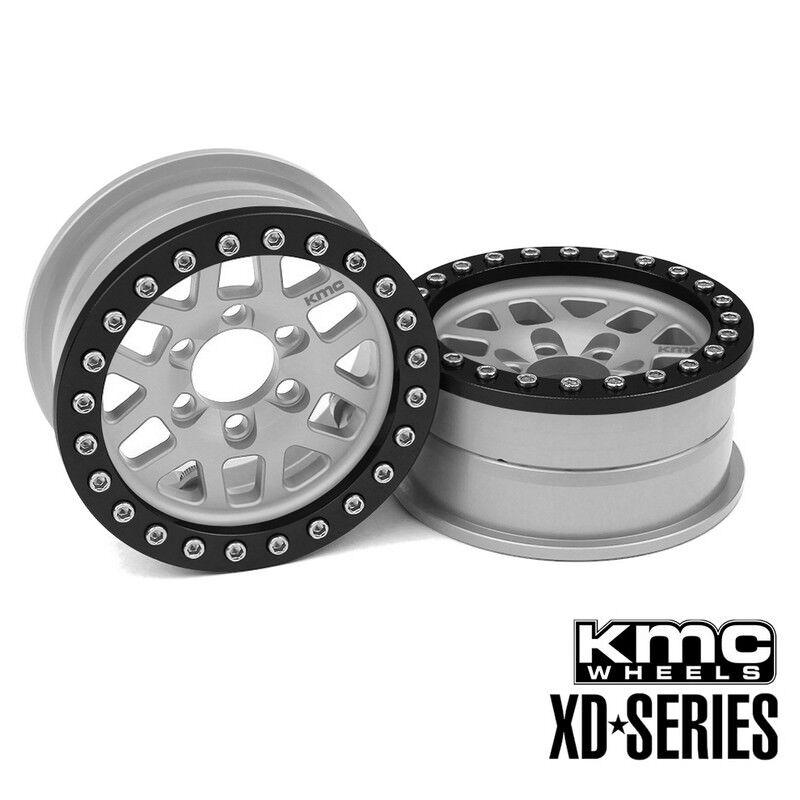 Vanquish VPS08041 2.2 Aluminio KMC XD229 machete beadlock Ruedas