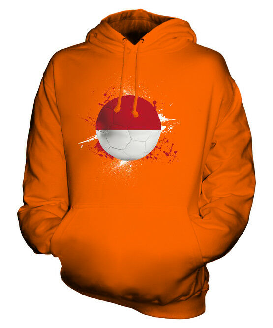 INDONESIA FOOTBALL UNISEX HOODIE TOP GIFT WORLD CUP SPORT