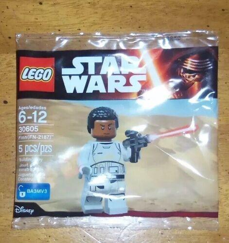 Lego 30605 Finn FN-2187 Star Wars Disney NEW SEALED BAG RARE POLYBAG