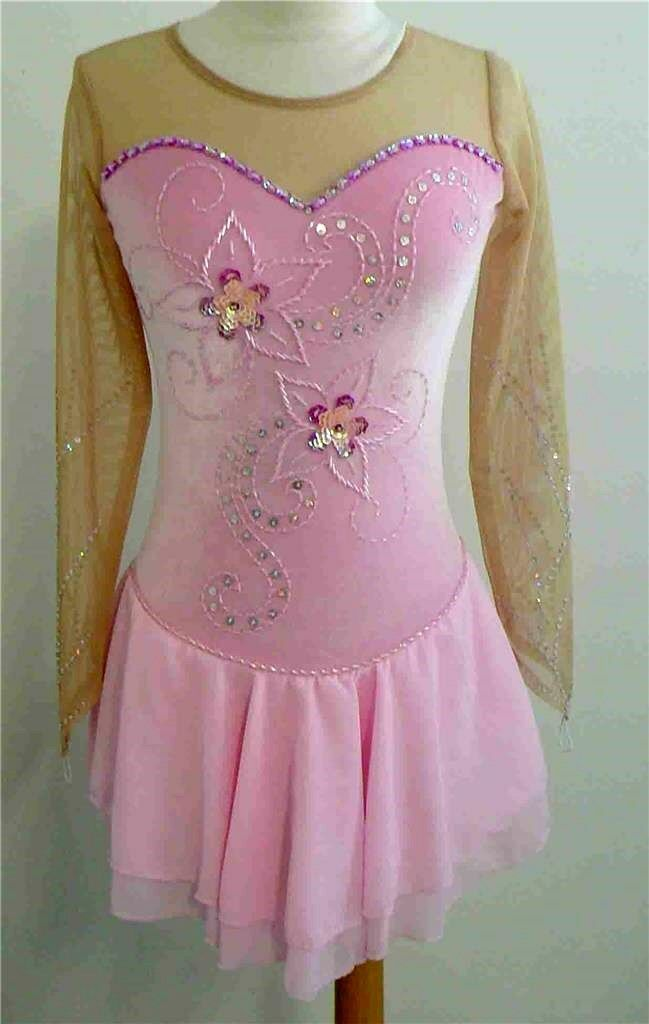 KIM Competition Ice Skating Dress Dance Adult Medium