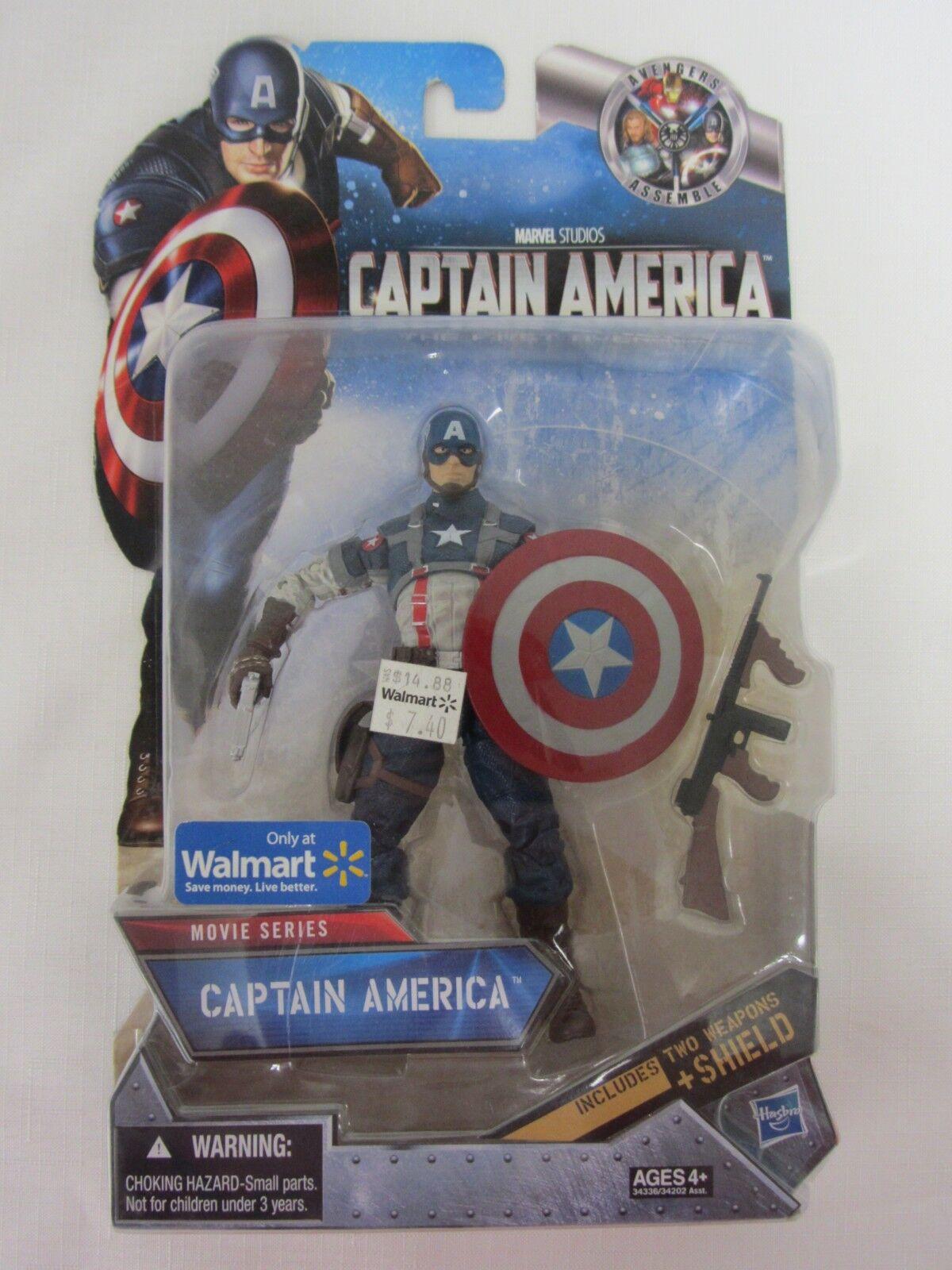 Film  captain america - actionfigur   marvel studios 2011 hasbro