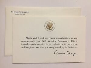 1980s-President-Ronald-Reagan-50th-Wedding-Anniversary-Card-Presidential-Seal