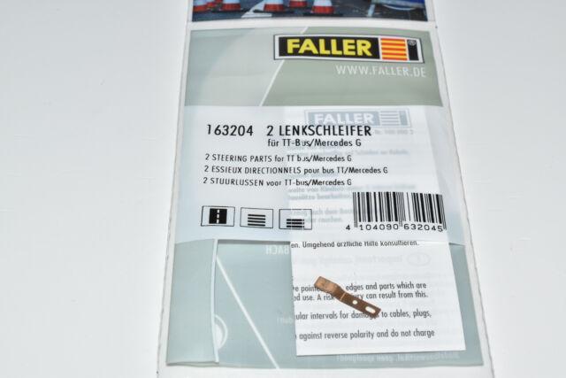 Faller Car System 163204 2 Stück Lenkschleifer / Magnetschleifer NEU &OVP 161729