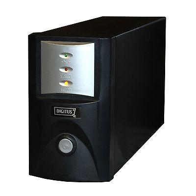 1500VA INTERAKTIVE UPS USV PC-MANAGEMENT DIGITUS DN-170012 RS-232 SOFTWARE CD OK