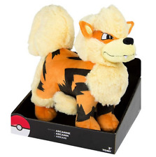 "Pokemon ARCANINE Rare Exclusive OFFICIAL TOMY Licensed 12"" JUMBO Plush w/Box"