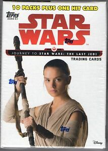 Star-Wars-Journey-to-the-Last-Jedi-2017-Topps-61-Card-Blaster-Box