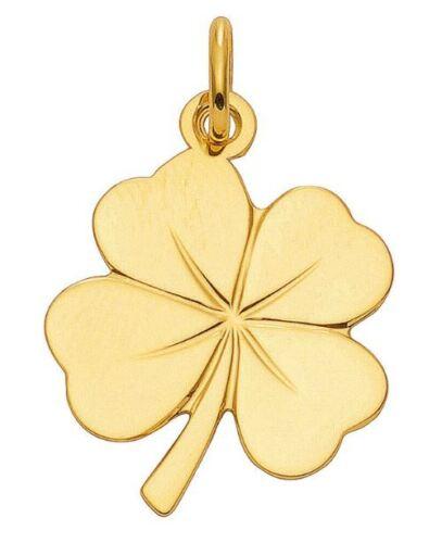 585 Gold ANADA Top Modell Gelbgold Kettenanhänger Kleeblatt Anhänger