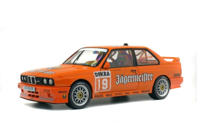 1/18 Solido BMW M3 E30 DTM JAGERMAESTER HAHNE 1992 S1801504 cochesaescala