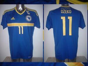 3c7851c50 Image is loading Bosnia-Herzegovina-DZEKO-IBISEVIC-M-L-Adidas-Shirt-Jersey-