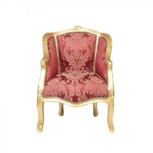 Bergere-Louis-XV-rouge-et-doree