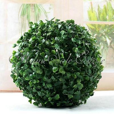 4pc Party Home Foliage Green Grass Ball Decoration Lantern Pom Poms Garden Decor