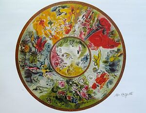 MARC-CHAGALL-034-PARIS-OPERA-CEILING-034-Signed-Numbered-Lithograph-Art