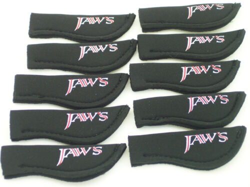 JAWS ROD TOP COVER Protector FOR Conventional Spinning Fishing ROD Black 20 pcs