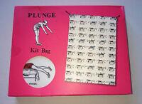 Plunge Fabric Kit Bag Drawstring Gym Shoes Swimming Pics Retro Gift Range Plg07