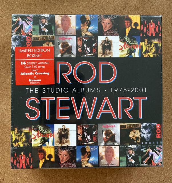 Rod Stewart - The Studio Albums 1975-2001 (2013)  14CD Box Set  NEW SEALED