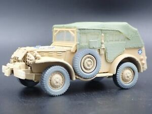 WWII-DODGE-WC57-COMMAND-CAR-ARMY-MILITARY-RARE-1-64-SCALE-DIECAST-MODEL-CAR