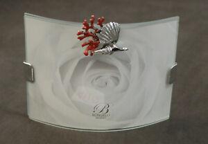 Orologi E Gioielli 4110 Orologi, Ricambi E Accessori Cornice In Vetro Curvo 9 X 12 E Argento 925 Piu' Smalto Cod