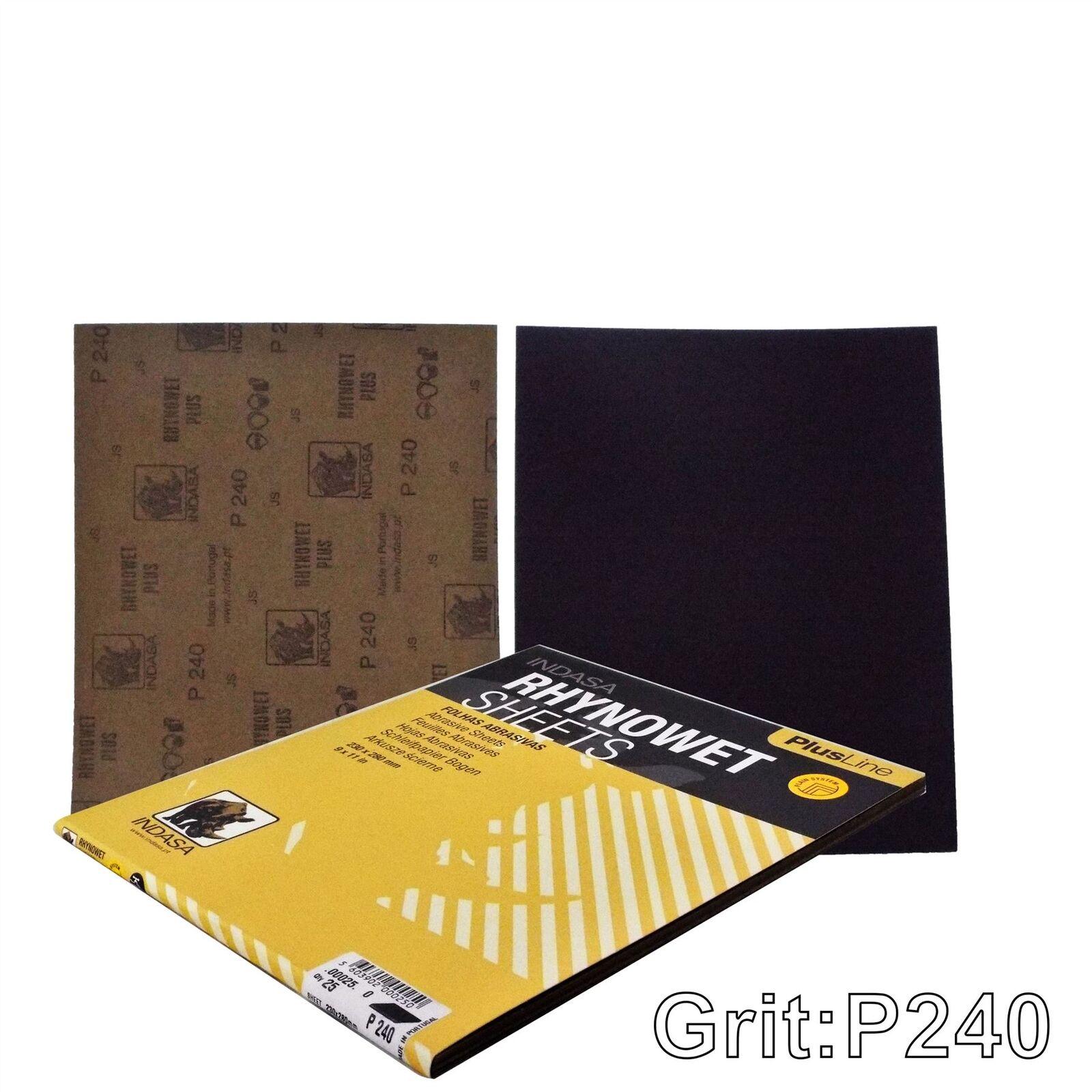 Indasa Rhynowet Plusline C00025 Sanding Sheets 230x280mm P240 Grit 25 Sheets 5603902000250 Ebay What marketing strategies does scieme use? ebay