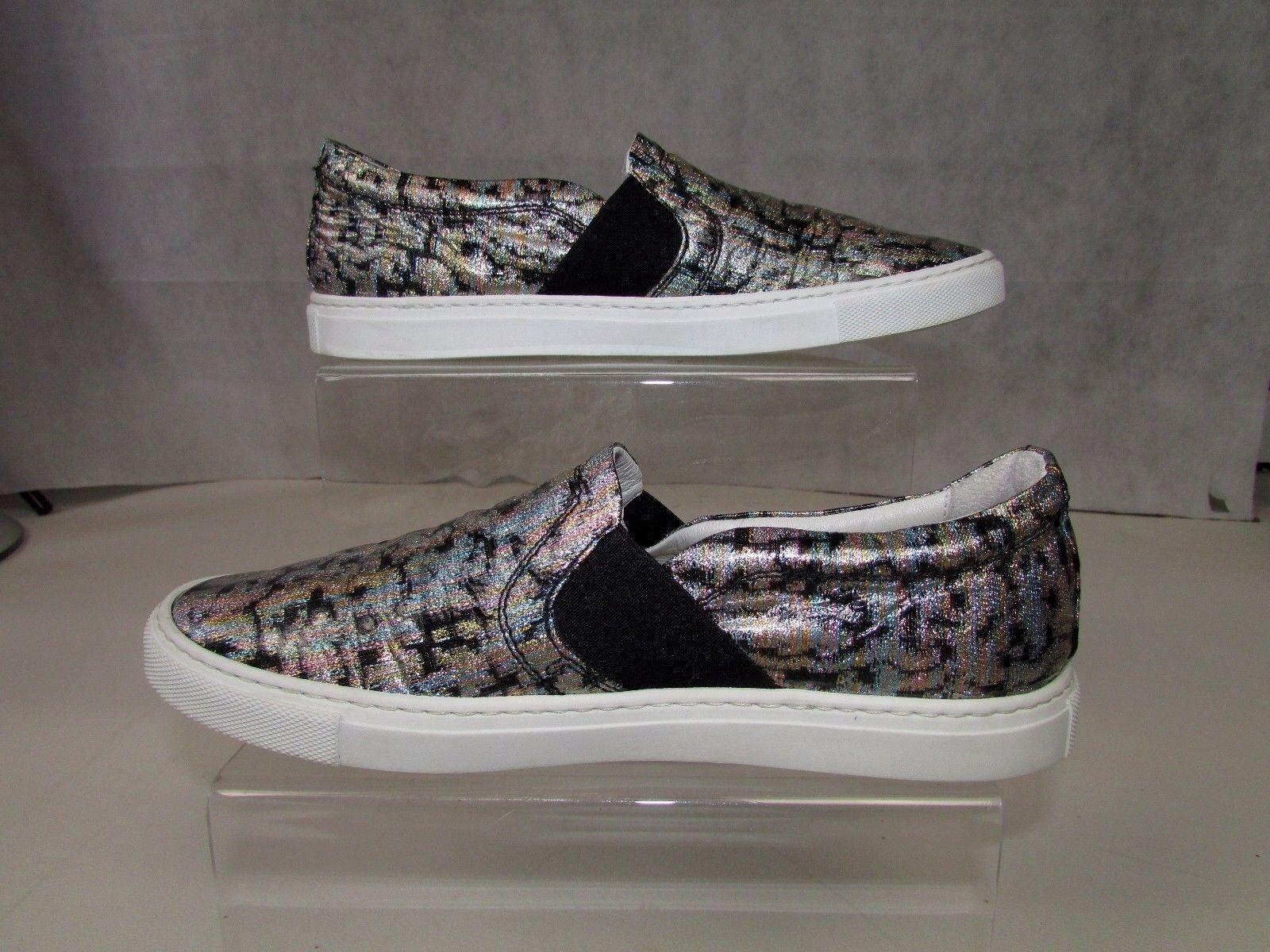 Lanvin women's multi-coloured slip-on trainers uk4