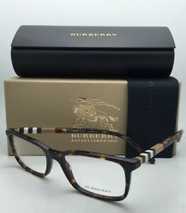60cb40a686 New BURBERRY Eyeglasses B 2199 3002 53-17 Tortoise Frame   Burberry ...