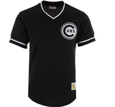 Mitchell & Ness Chicago Cubs Baseball Jersey New Mens Sizes MSRP $80