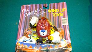 The California Raisins 1988 Nasta Wind Up Toy in Original Package #12410