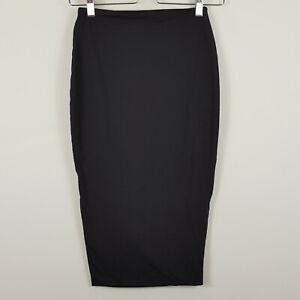 KOOKAI-Womens-Black-Bodycon-midi-Skirt-Size-1-or-AU-8-US-4