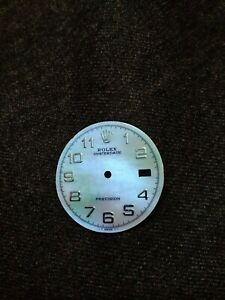 Custom-Made-Mother-Of-Pearl-Dial-Arabic-Index-fit-for-Rolex-Date-Precision-6694