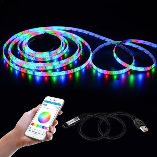 Android APP Mini WIFI LED RGB Controller 5V Bluetooth Light Strip dimmer IOS