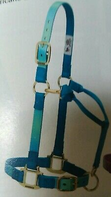 "Weaver Leather Original 1/"" Horse Adjustable Throat Snap Nylon Hurricane Halter"