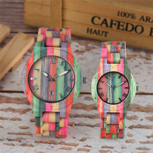 National-Bamboo-Wirstwatch-Bracelet-Handmade-Multiful-Color-Full-Wooden-Watch