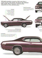 1971 Plymouth Duster 340 Article - Must See !!