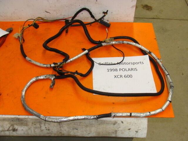 98 Polaris Xcr Xlt Xc  600 Triple 99  00  Main Wiring Harness Wires Wire Loom