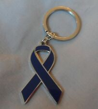 ***NEW*** Ataxia-telangiectasia Awareness ribbon enamel keyring.Charity, badge.