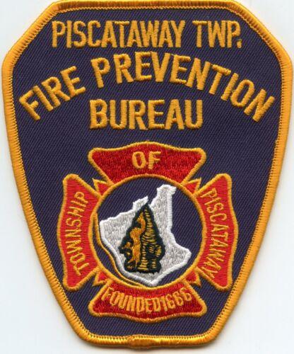 PISCATAWAY TOWNSHIP NEW JERSEY NJ Fire Prevention Bureau FIRE PATCH