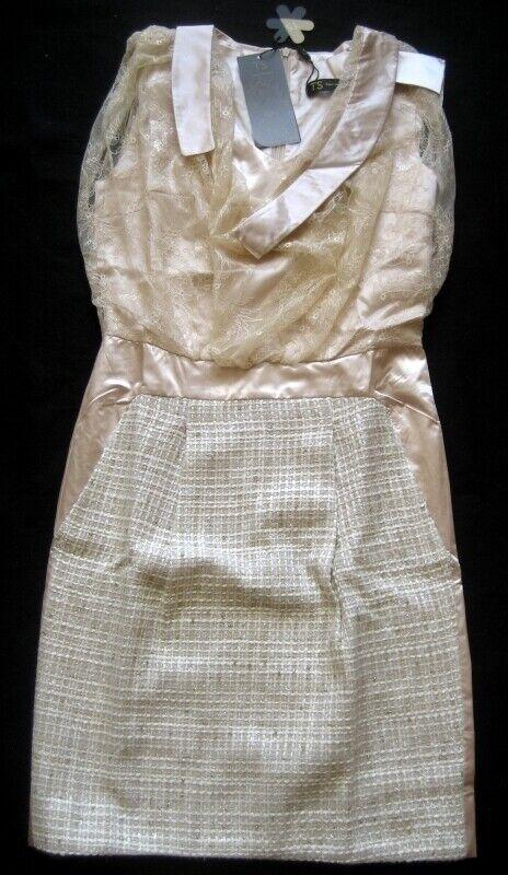 THREE SEASONS Damenkleid Gr. M Mehrfarbig