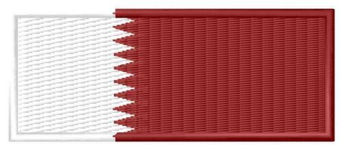 Bandiera Qatar FLAG Qatar iron-on patch ricamate